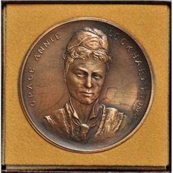 1875 - 1975 Mount Allison Grace Annie Lockhart Medal in Case of Issue.