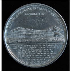1851 London International Industrial Exposition Medal