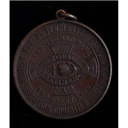 Womens Temperance Association Medal