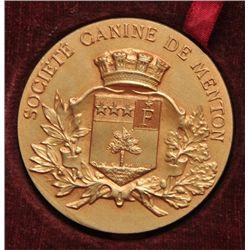 France Canine Medal