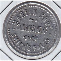 Martin Bros Transfer Token - Smith's Falls, ON