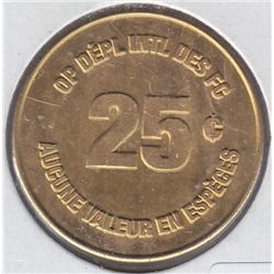 Canadian Forces Token 25 cents