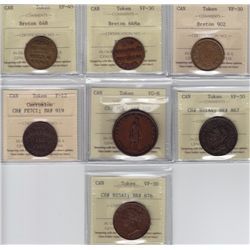 Lot of Seven ICCS Tokens