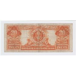 1922 USA GOLD CERTIFICATE $10