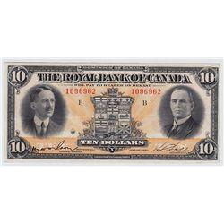 1927 Royal Bank of Canada $10