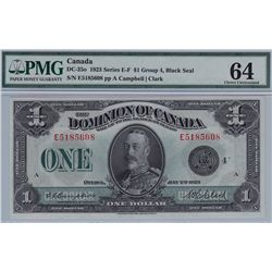 1923 Dominion of Canada $1