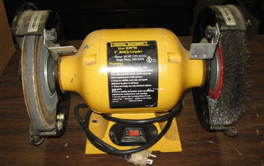 Prime Central Machinery 8 Bench Grinder Wire Wheel Creativecarmelina Interior Chair Design Creativecarmelinacom