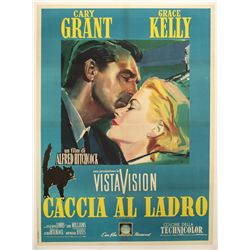 To Catch a Thief Italian Poster