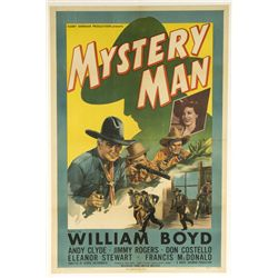 Mystery Man One-Sheet Poster