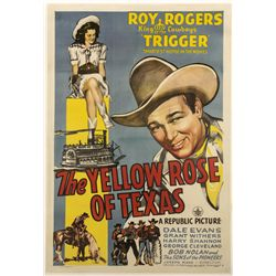 The Yellow Rose of Texas One-Sheet Poster