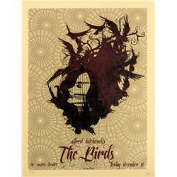 Alfred Hitchcock The Birds Promotional Poster