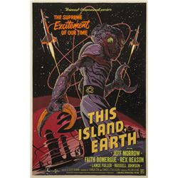 This Island Earth Mondo Poster