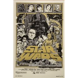 Star Wars (A New Hope) Mondo Poster Signed
