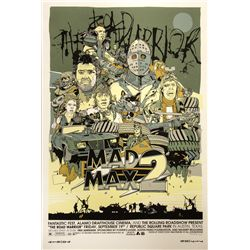 Mad Max 2: The Road Warrior Mondo Poster Signed
