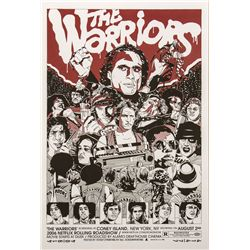 The Warriors Mondo Poster Red Variant