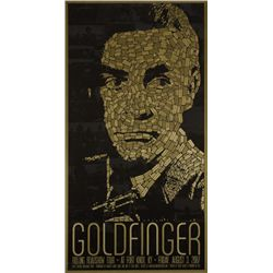 Goldfinger Re-Release Poster Signed Artist Proof