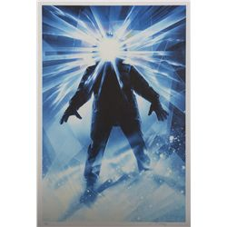 The Thing Mondo Poster Glow in the Dark Variant Signed by Drew Struzan
