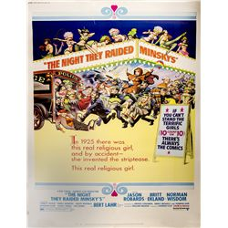 "The Night They Raided Minsky's 40"" x 60"" poster"