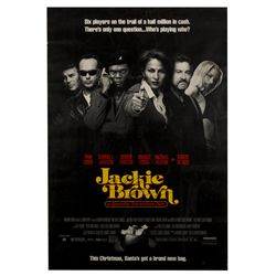 Jackie Brown Signed Poster