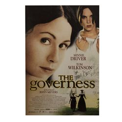 The Governess Signed Poster