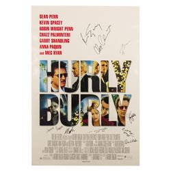 Hurly Burly Signed Poster