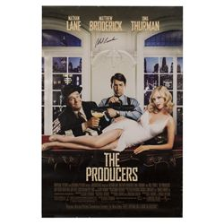 The Producers Signed Poster
