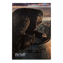 King Kong Signed Poster