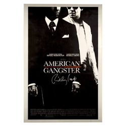 American Gangster Signed Poster