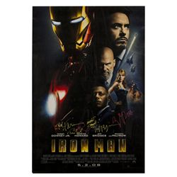 Iron Man Signed Poster
