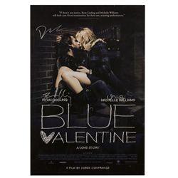 Blue Valentine Signed Poster