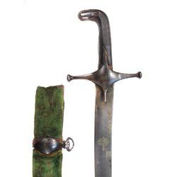 A PERSIAN QAJAR DYNASTY SHAMSHIR SWORD