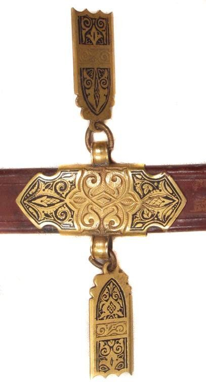 A RARE BOABDIL-STYLE TOLEDO SWORD