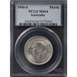 1944-S Florin PCGS MS64