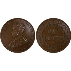 1915 Penny PCGS AU53