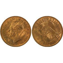 1942(I) I Penny PCGS MS63RB