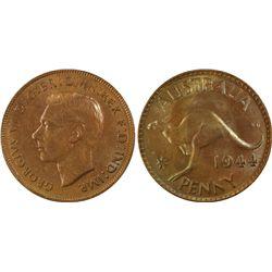 1944(m) Penny PCGS MS63RB
