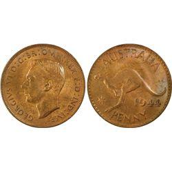 1944(p) Penny PCGS MS64RB