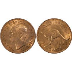 1951-PL Penny PCGS MS64RD