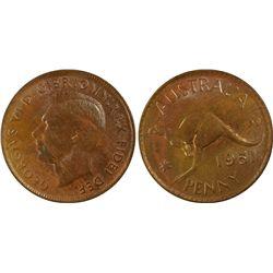 1951(p) Penny PCGS MS64BN