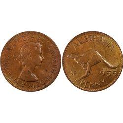 1955(p) Penny PCGS MS63RB