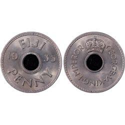 1935 Fiji Penny PCGS MS66