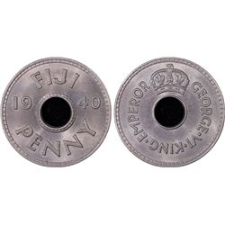 1940 Fiji Penny PCGS MS64