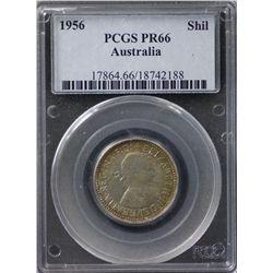 1956 Proof Shilling PCGS PR66