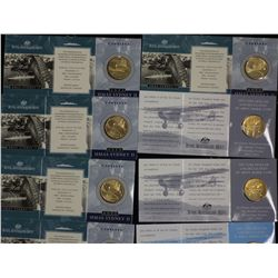 $1 Coins 1999B x 2, 1999M x 2, 1999C x 2 and 1999A x 2