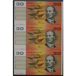 $20 Notes Fraser/Higgins x 5, CFU