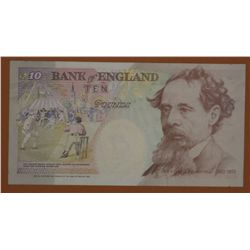 Bank of England 10 Pound Notes