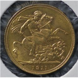 Sovereign 1911S Choice Uncirculated