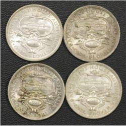 1927 Canberra Florins (4), ef by 2 , aunc 1, Unc 1
