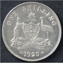 1925 Shilling Uncirculated