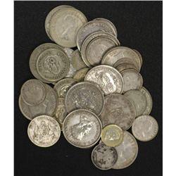 Australian Silver Pre 45 $2.00, post $2 ( 4 canberra florins in lot)